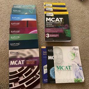 Mega mcat bundle kaplan Princeton review